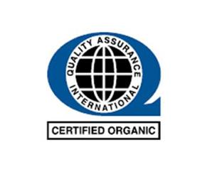 showing label certifed organic