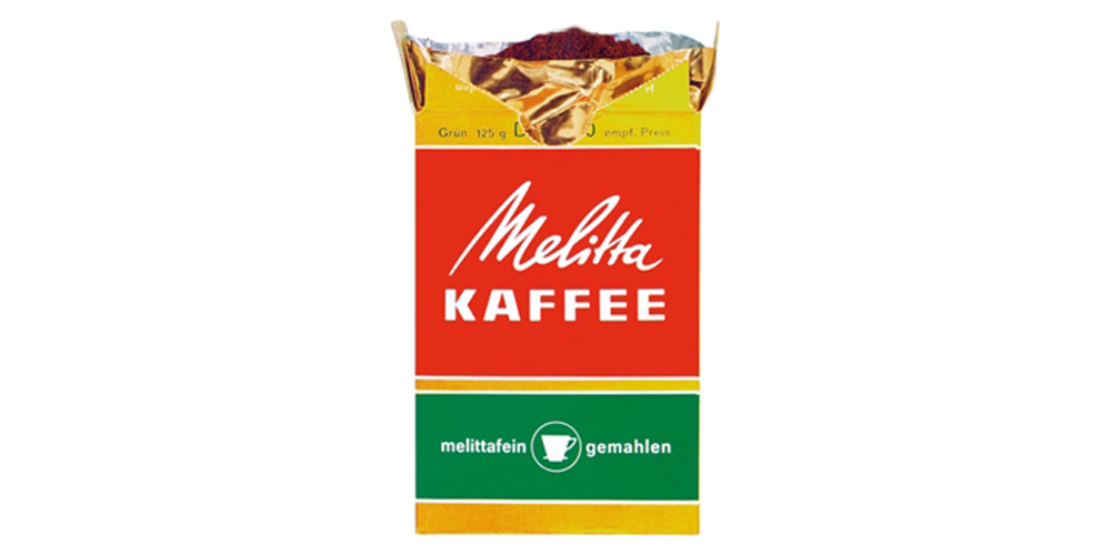 Showing coffee packaging