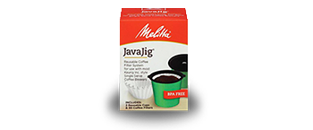 Melitta JavaJig™: A Single-Serve Filter Solution from the Leader in Coffee Filters