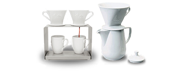 Pour-Over Brewing With Porcelain